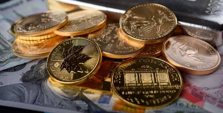 Золотые монеты 2017 года