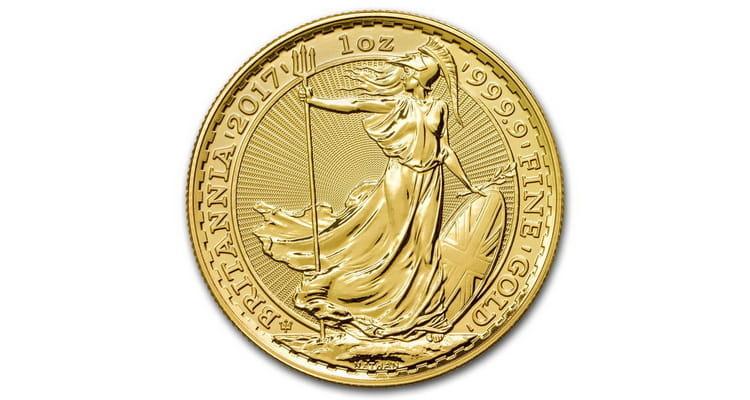 Золотая инвестиционная монета 2017 года
