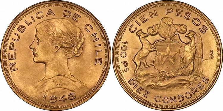 100 Chilean Pesos