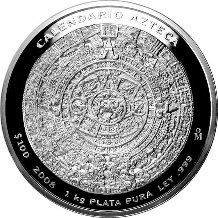 2008 Mexican Kilo Calendario Azteca