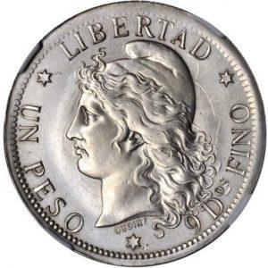 Серебряные монеты Аргентины