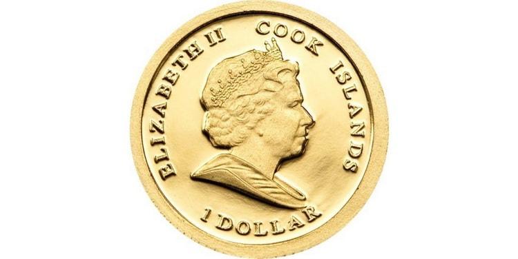 Реверс золотой монеты Обамы