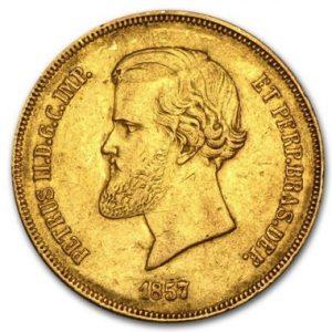 Обзор золотых монет Бразилии