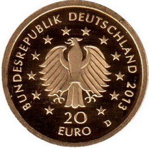 Особенности золотых монет Германии