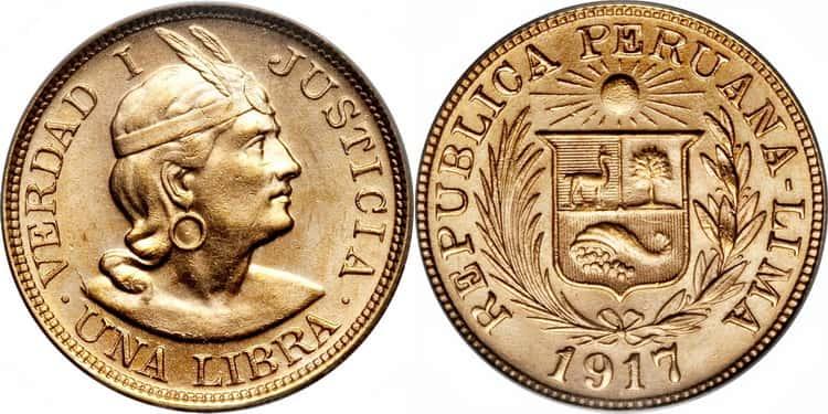 1 Peruvian Libra