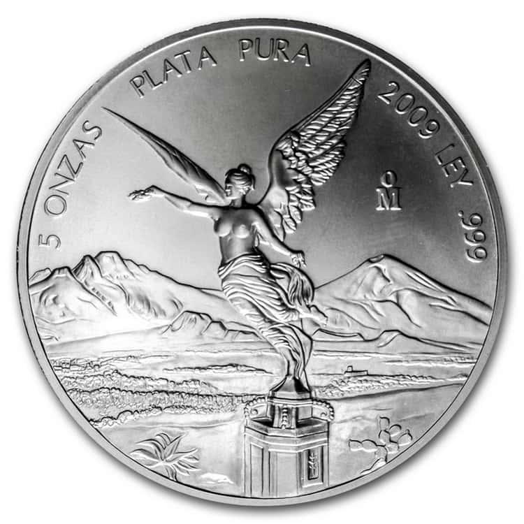mexican silver libertad coin 2009