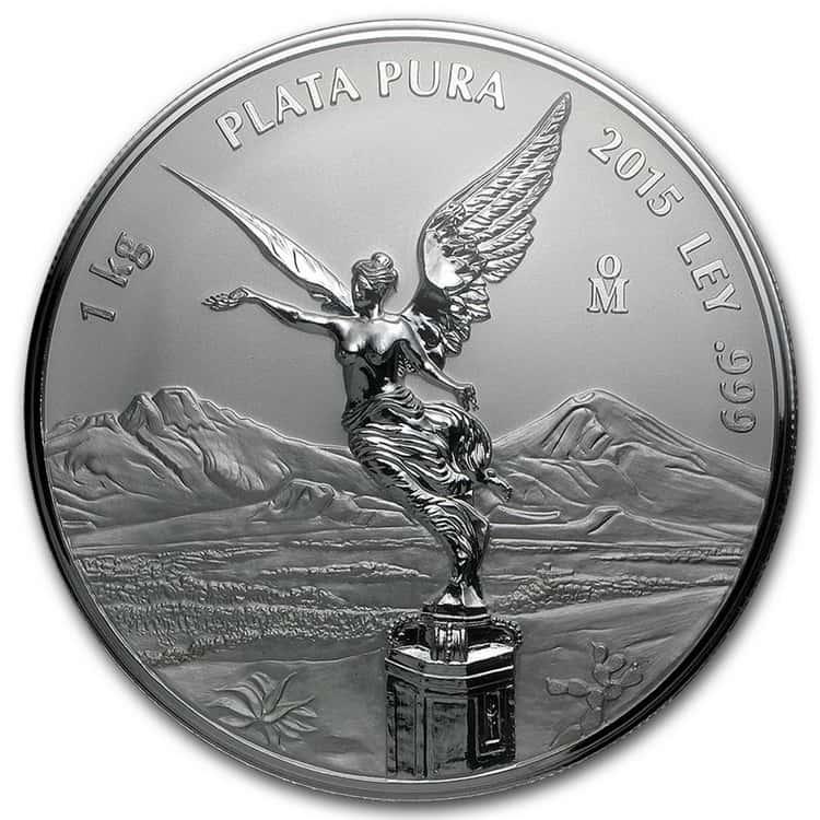 mexican silver libertad coin 2011 1kg