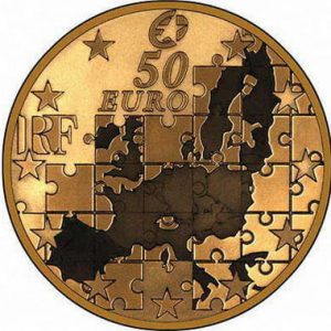 Золотые монеты Европейского Союза