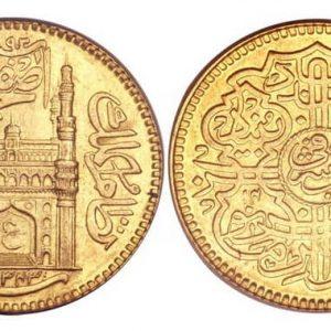 Обзор золотых монет Индии