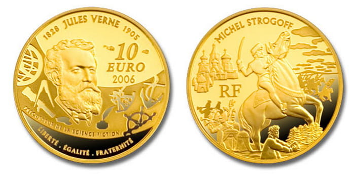 French gold coins 2006