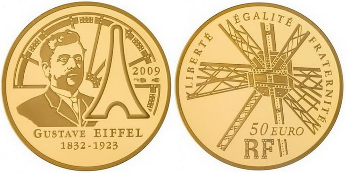 French gold coins 2009
