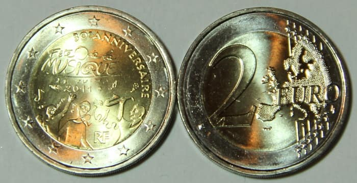 French gold coins 2011