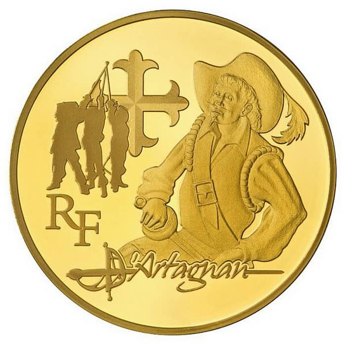 French gold coins 2012