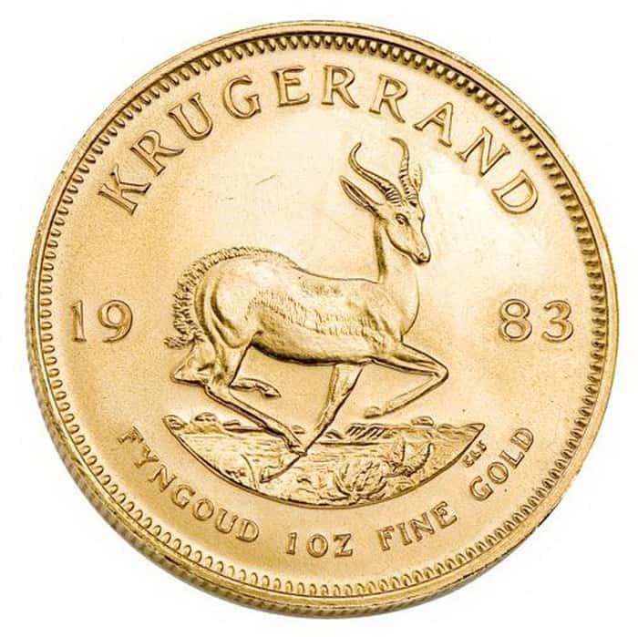 Krugerrand Reverse