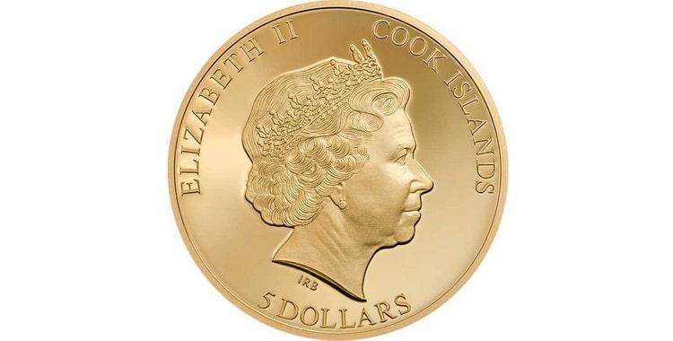 Золотые и серебряные монеты Островов Кука