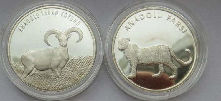 Характеристики серебряной монеты Турции