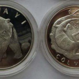 Серебряные монеты Турции