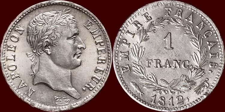 Характеристики старинной серебряной монеты Франции