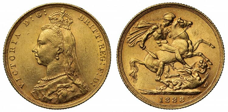 Victoria (1887-1892) one sovereign