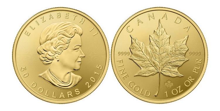 Золотые монеты Канады