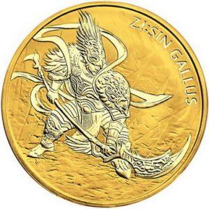 Золотые монеты Южной Кореи