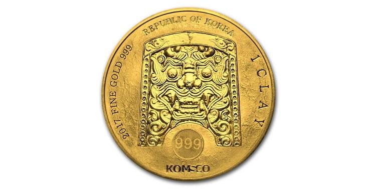 Характеристики инвестиционной золотой монеты Южной Кореи