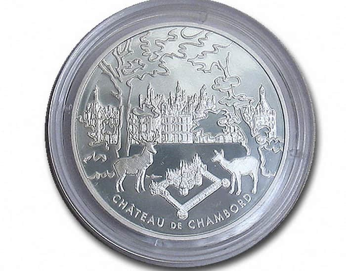 commemorative silver coins of France 2003