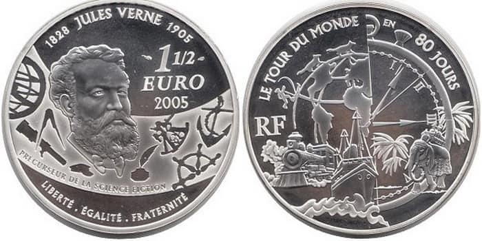 commemorative silver coins of France 2005
