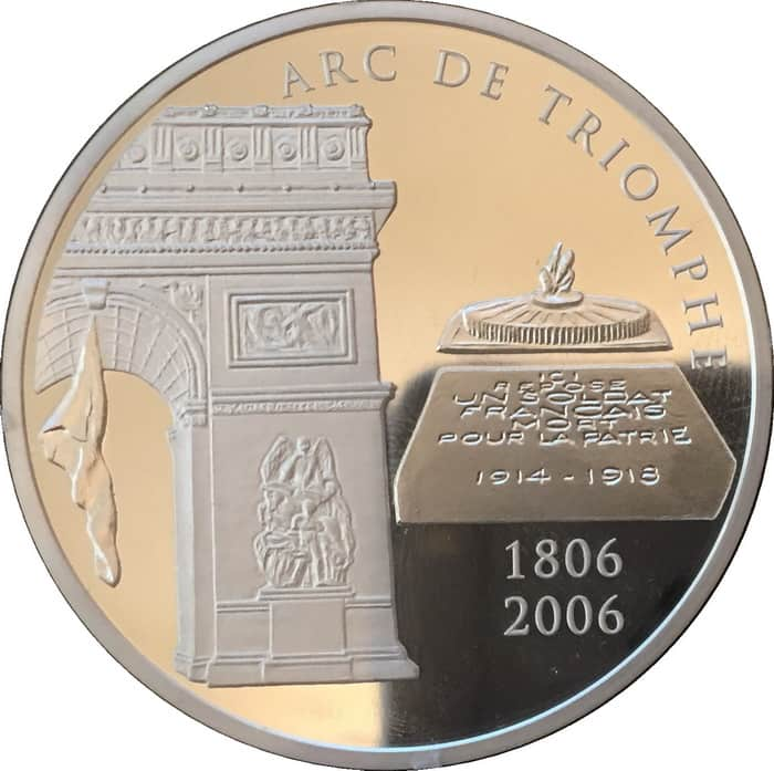 commemorative silver coins of France 2006