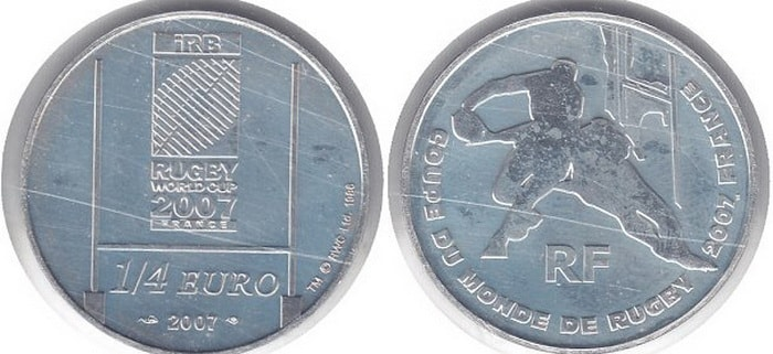commemorative silver coins of France 2007