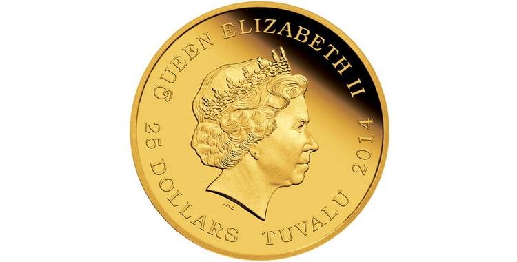 Золотые и серебряные монеты Тувалу