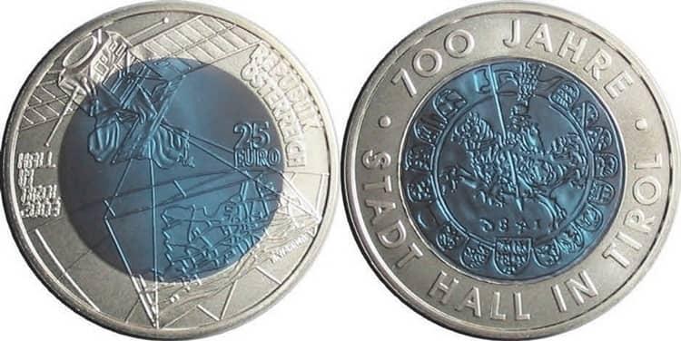 Серебряные монеты Европейского Союза по программе Europa Coin