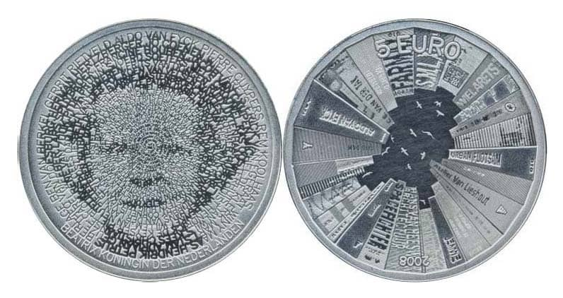 Серебряные монеты Европейского Союза