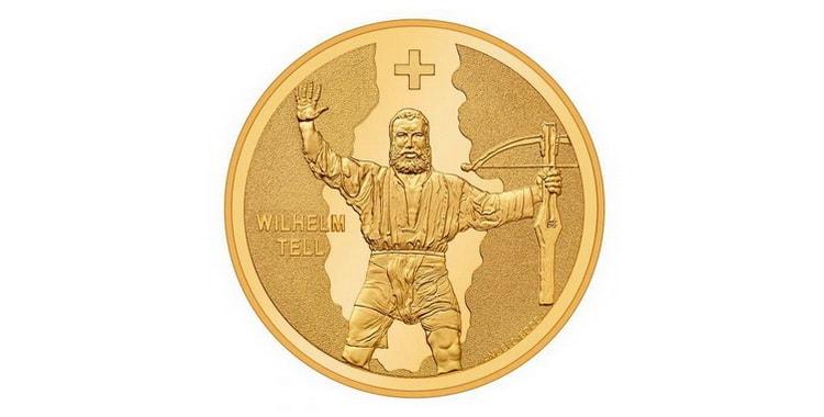 Золотые монеты Швейцарии